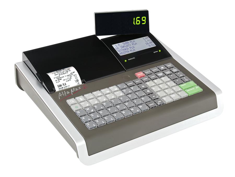 fotografia kasy fiskalnej ELZAB alfa max